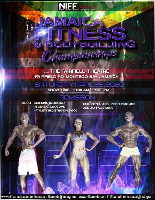 NIFF Canada Jamaica Fitness And Body Building